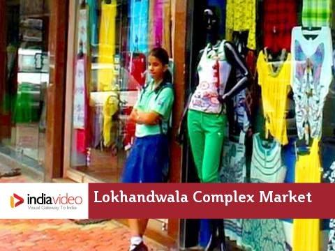 Glimpse Of Lokhandwala Complex Market Mumbai | India Video