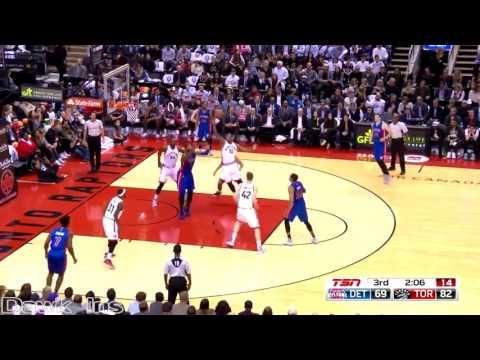 DeMar DeRozan Full Highlights 2016 10 26 vs Pistons   40 Pts, 21 in 3rd Quarter!