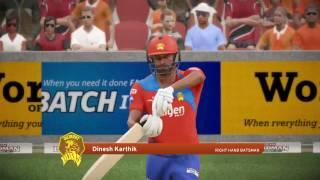 *Latest IPL Squad* Don Bradman Cricket 17 | Gujrat Lions Vs Royal Challengers Bangalore