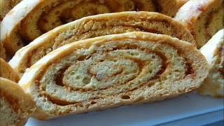 حلويات عيد الاضحى /فقاص بالمربى مميز جدا سهل وناجح مع طريقة تقطيعه  مباشرة دون ان يرتاح ولو لساعة