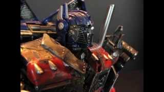 ROTF Custom Forest Battle Optimus Prime 2.0