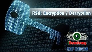 RSA: Key Generation / Encryption / Decryption - شرح بالعربي