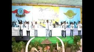 Telugu Expression less Funny Dance - Hilarious-Razzle Dazzle- Youth Festival-Apoorva College
