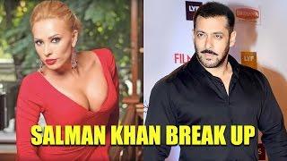 Angry Salman Khan fights with Girlfriend Iulia Vantur
