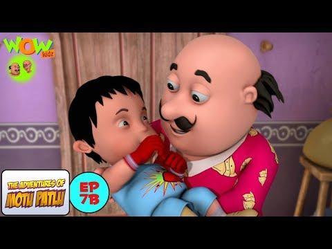 Boxer's Baby - Motu Patlu in Hindi - WITH ENGLISH SUBTITLES!