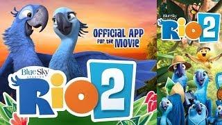Rio 2 Movie: Official Rio 2 App: Storybook & Games for Kids