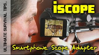 iScope Smart Phone Scope Mount - SHOT Show 2015 - Cool Hunting Shooting Video