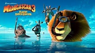 MADAGASCAR 3 Trailer Deutsch German FullHD 2012