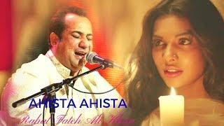 Rahat Fateh Ali Khan New Emotional Song - Aahista Aahista