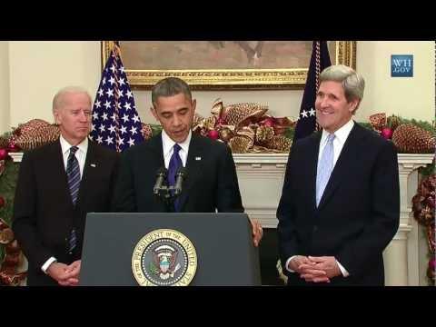 Xxx Mp4 Obama S Nomination Of Senator John Kerry As Secretary Of State 2012 3gp Sex