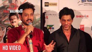Question Answer Session With Shahrukh Khan, Irfan Khan & Anupam Kher