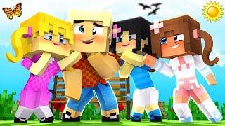 Minecraft Kindergarten - WHO DOES NUGGET LOVE?! 💖