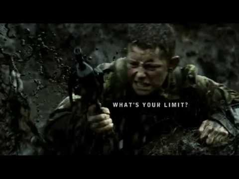 Royal Marine Commando 2001 Advert
