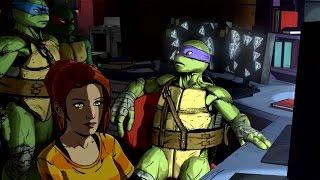 Teenage Mutant Ninja Turtles Mutants in Manhattan level 1 Bebop stage  playthrough (PS4)