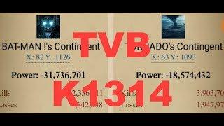 Clash Of Kings : TVB - K1314 - BURNS BATMAN - REPORT ANALYSIS -Damage & Prayer Hall Enhancements