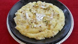 Anday or Suji ka Halva Recipe