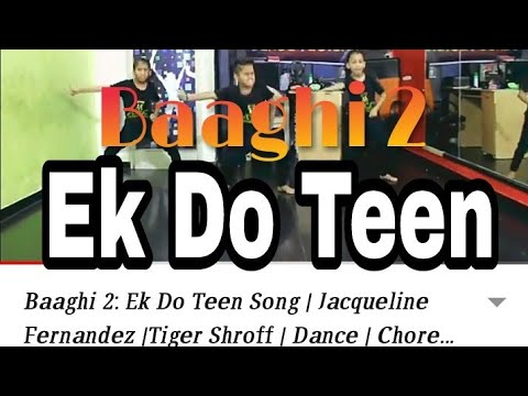 Xxx Mp4 Baaghi 2 Ek Do Teen Song Jacqueline Fernandez Tiger Shroff Dance Choreography ABCD 3gp Sex