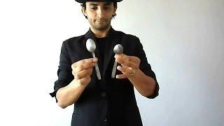 تعلم العاب الخفة # 183 ( تذويب الملعقة ) free magic trick