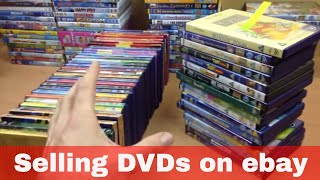 Selling DVDs on eBay - Disney and other children