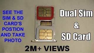 How To Insert Dual SIM With Micro SD Card In Hybrid Slot