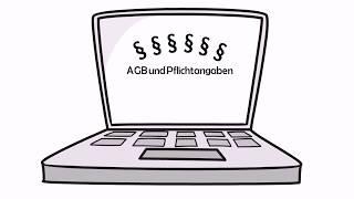 Tim sucht AGB und Rechtstexte für seinen Onlineshop