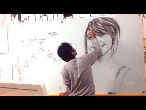 Jessica Veranda ( @veJKT48 ) Marker Drawing by @nooraditama