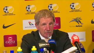 Bafana Bafana coach Stuart Baxter on Bafana's loss to Senegal