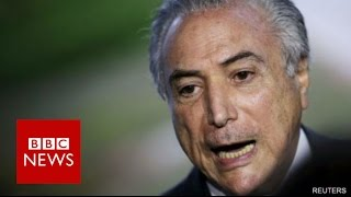 This is Brazil's new leader: Michel Temer  - BBC News