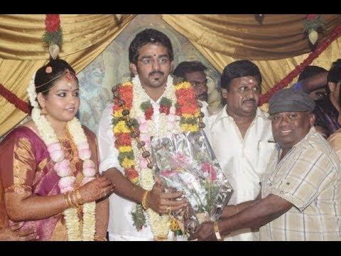 Ramarajan and Nalini's Son Arun Wedding | Tamil actor wedding video