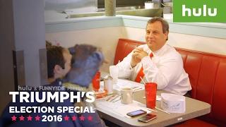 Triumph Chris Christie Diner Segment • Triumph on Hulu