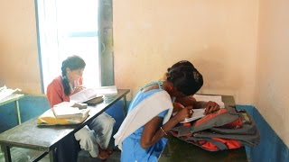 Indian School Funny Girls.Comedy Students in village Schools. Villagers in India.Fun Class.कॉमेडी