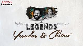 Legends - Yesudas & Chitra | Telugu Golden Songs Jukebox Vol. 1