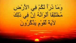 ما تيسر من سورة النحل قراءة رائعة للشيخ فارس عباد