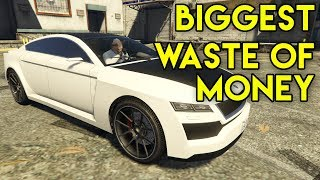 DON'T WASTE YOUR MONEY !! NEW GTA : ONLINE CAR.