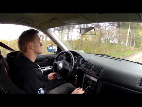 1 4 mile VW Golf GTI 1.8T