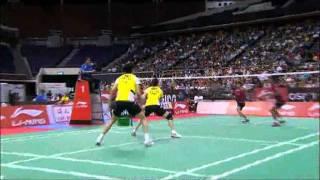SF - XD - Zhang Nan/Zhao Yunlei vs Tantowi Ahmad/Liliyana Nasir - 2011 Li Ning Singapore Open