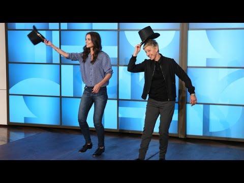Katie Holmes Teaches Ellen to Tap Dance
