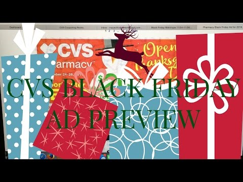 CVS Black Friday Ad Preview with Deals