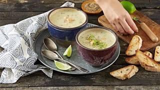 MAGGI Recipes: Creamy Chicken & Oats Soup وصفات ماجي: شوربة الدجاج بالكريمة والشوفان