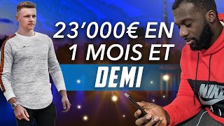 23'000€ EN 45 JOURS EN DROPSHIPPING À 28 ANS - INTERVIEW DADAWI