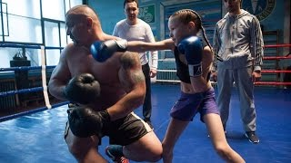 Incredible little girl Evnika Saadvakass Just 9 year Old Future Boxing Champion [Prodigy]