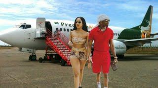 Diamond Na Mpenzi Wake Mpya Wazuiwa Kupanda Ndege