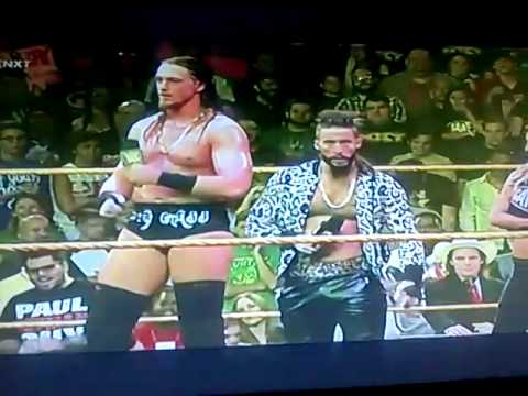 Enzo amore and Colin cassady best entrance
