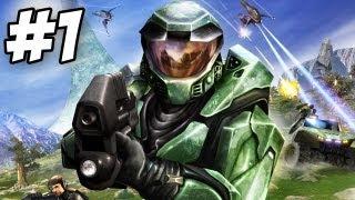 Halo: Combat Evolved Walkthrough   Pillar of Autumn    Part 1 (Xbox/PC)