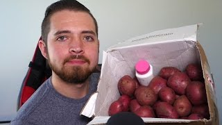 69 POTATOES AND A BOTTLE OF BLEACH | P.O Box Opening