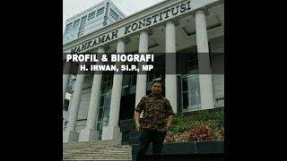 Profil & Biografi Akademisi Dan Tokoh Pemuda Kutim H. Irwan, SI.P., MP