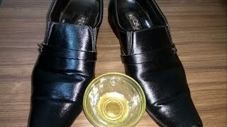 No need of Shoe Polish , Just try this , Simple and Easy