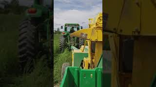 Oxbo green bean harvester