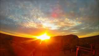 Uluru (Ayers Rock) sunset timelapse - Red Center - Australia