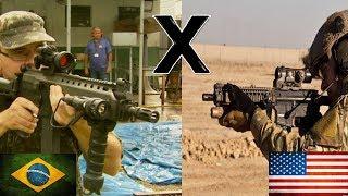 IA2 x M4 - Comparação de Fuzis